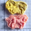 Unicorn Horse- Silicone Mold Soap Candy Plaster Cake Resin