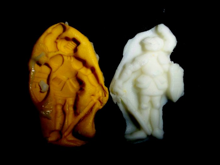 Knight -Silicone Mold Soap Cake Candy Chocolate Chips