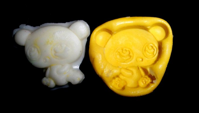 Baby Panda Bear  -Silicone Mold Soap Cake Candy Chocolate Chips
