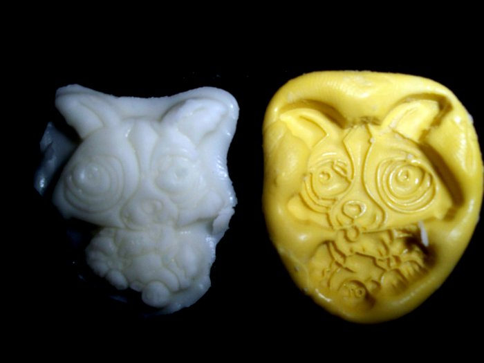 Dog Puppy  -Silicone Mold Soap Cake Candy Chocolate Chips