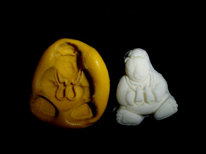 Bear Animal -Silicone Mold Cake Resin Soap Chocolate