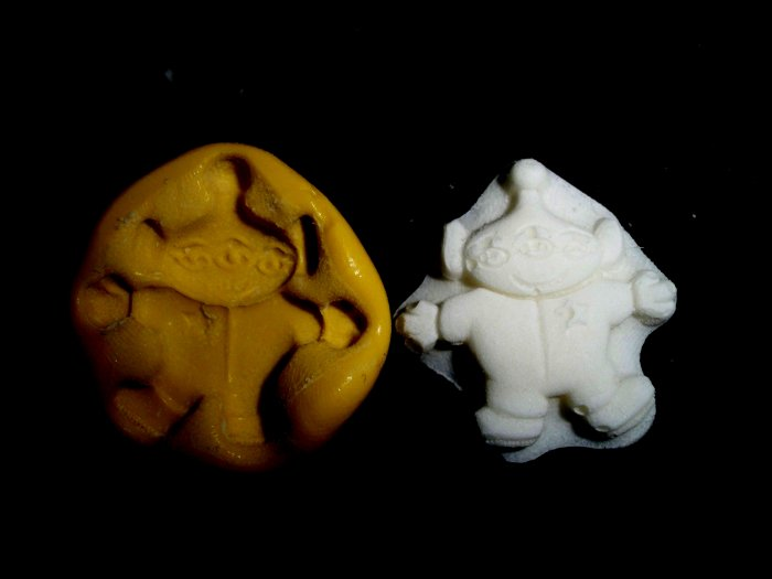 Alien -Silicone Mold Cake Resin Soap Chocolate