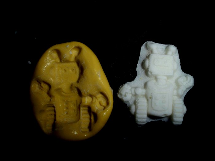 Robot -Silicone Mold Cake Resin Soap Chocolate