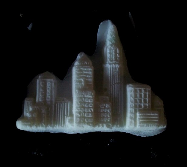 City Buildings -Silicone Mold Cake Resin Soap Chocolate