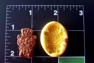 Leprechaun -Silicone Mold- Candy Clay Cookies Crafts