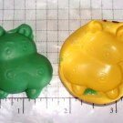 Hippo -Silicone Mold- Candy Cake Clay Cookies Crafts