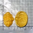 Santa - Silicone Mold- Candy Cake Clay Cookies Crafts