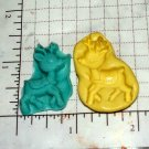 Rudolph Reindeer - Silicone Mold Candy Crafts Cookies