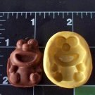 Baby M0nster -  Silicone Mold- Cake Cookies Crafts Candy