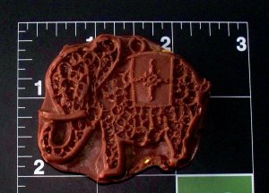 Elephant Filigree -  Cake Candy Cookies Crafts-  Silicone Mold