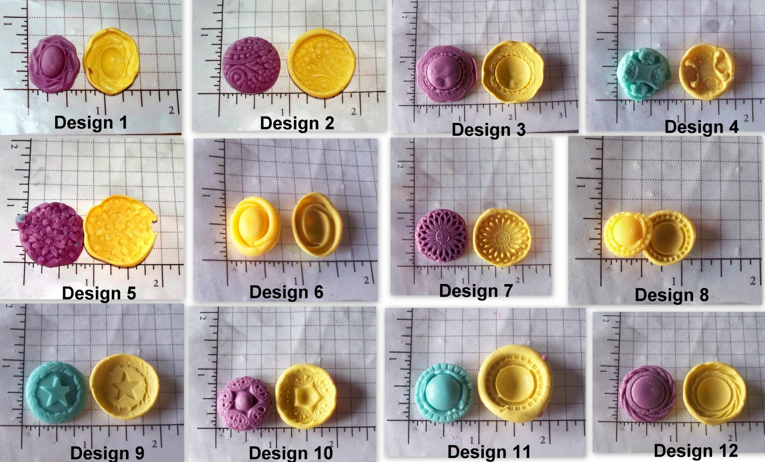 Huge Embellish Set -Silicone Mold Cookies Crafts Cake Candy