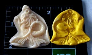 Mermaid-  Candy Cake Crafts Cookies- Silicone Mold
