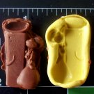 Letter Mouse I / l - Silicone  Mold - Candy Plaster Cake Resin