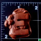 Letter Mouse E - Silicone  Mold - Candy Plaster Cake Resin
