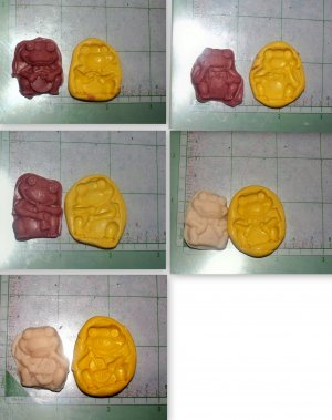 Frog Band - Silicone Molds- Cake Candy Cookies Crafts