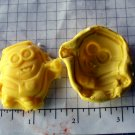 Minion- Silicone Mold- Kids Candy Cake toppers Clay Cookies Crafts