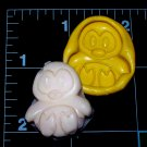 Penguin - Cake Candy Cookies Crafts-  Flexible Mold