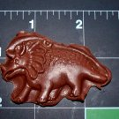 Dinosaur - Cake Candy Cookies Crafts-  Flexible Push Silicone Mold