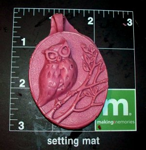 Owl  Bird -  Cake Candy Cookies Crafts-  Flexible Push Silicone Mold
