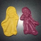 Mario - Silicone Mold-  Kids Candy Cake toppers Clay  Cookies Crafts