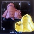 Xmas Car -  Silicone Mold - Candy Cake Cookies Kids Crafts Clay