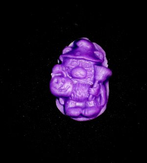 Halloween Witch bear- Silicone Mold-  Kids Candy Cake toppers Birthday Clay  Cookies Crafts