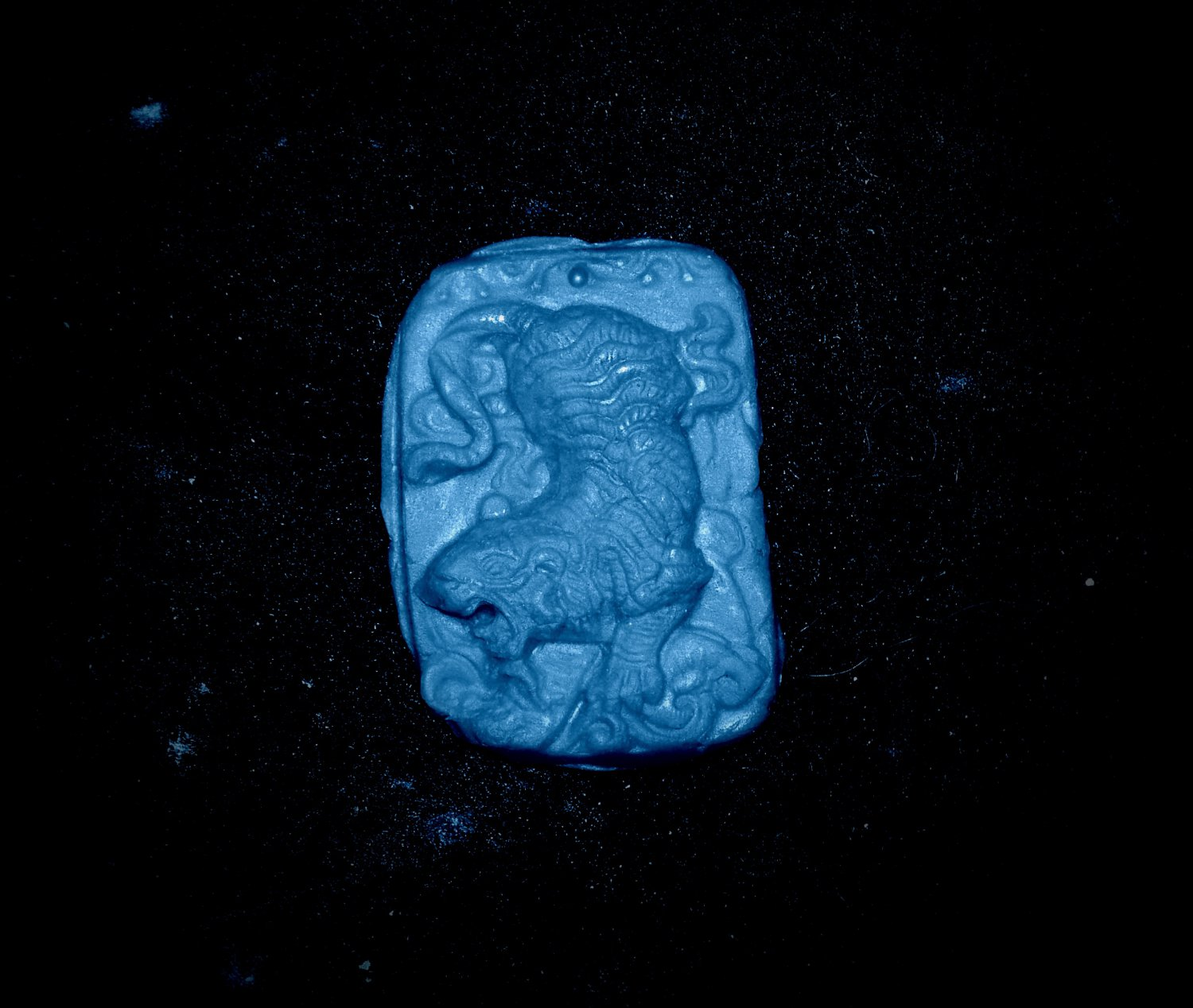 Tiger on Prowl - Silicone Push Mold - Candy Cake Cooklies Clay Resin