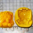 Cat Kitten- Flexible Push Silicone Mold- Cake Candy Cookies Fondant Crafts