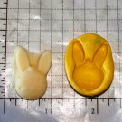 Bunny Rabbit -Silicone Mold- Candy Cake Clay Cookies Crafts