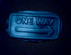 One Way Sign -Flexible Push Silicone Mold-Candy Cake Clay  Cookies Crafts