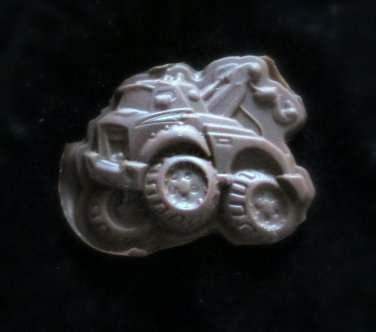 Construction  Tow Truck C1-  Candy Cake Crafts Cookies- Silicone Mold