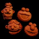 Sesame Monsters - Candy Cake Crafts Cookies- Flexible Silicone Mold