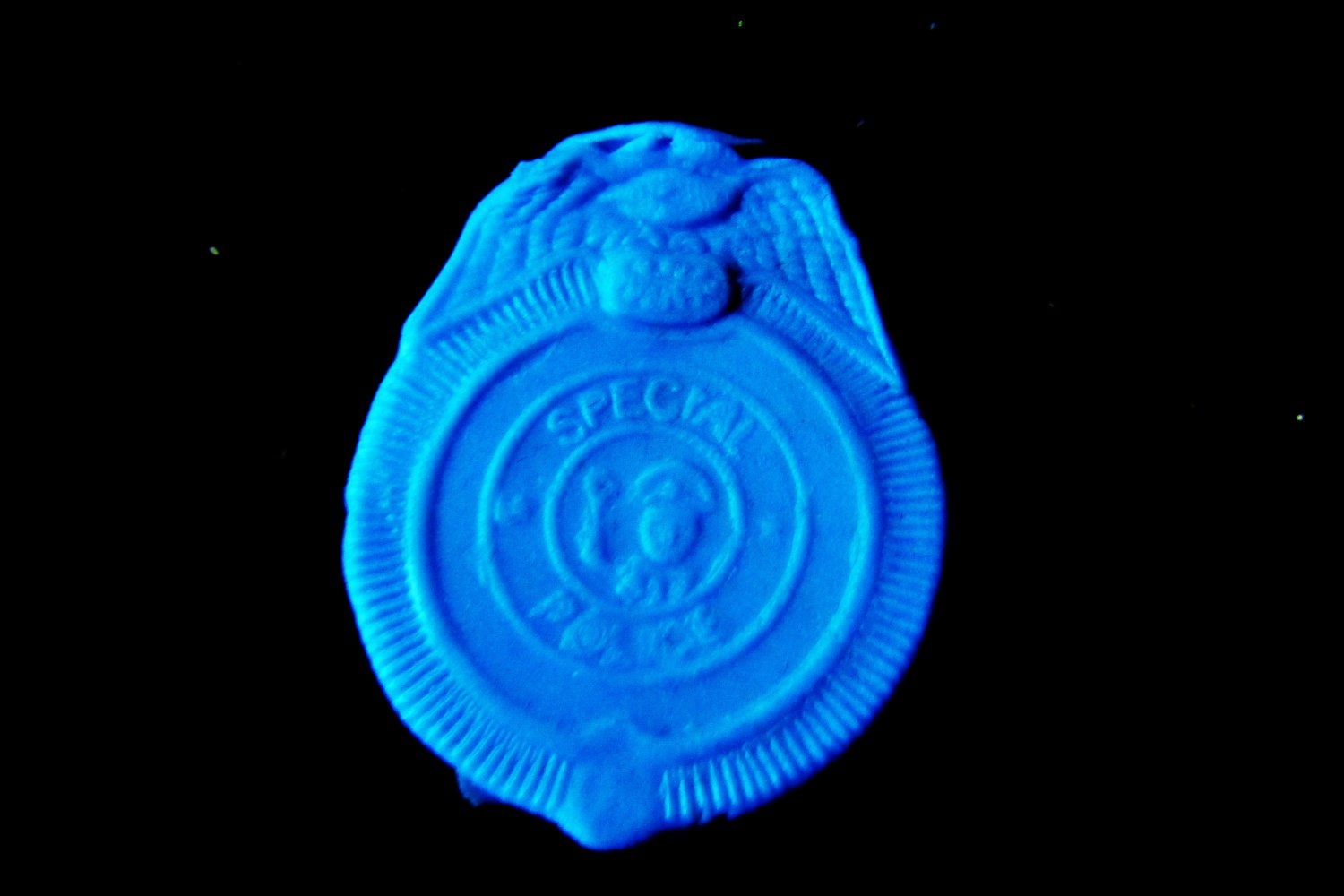 Badge Police Fire Rescue b-   Silicone Mold-  Cake Candy Cookies Fondant Crafts