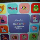 Zanimals photo frame by Paperchase for 3 inch by 3 inch photograph colorful funny animals NEW