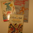 3 childrens book assortment Jokes - Sports Stories - Chemistry Experiments like new