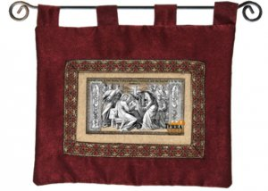 Religious Art in Holy Land Soil - Anointment of Jesus