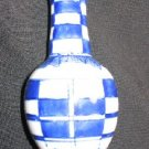 Small Blue & White Porcelain Bottle Bud Vase Chinese