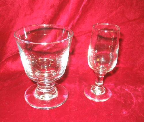 2 NEW Cocktail Wine Glass Mixed Drinks Goblets