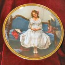 1983 Norman Rockwell Waiting at the Dance Plate w/ COA