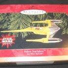Hallmark Ornament Naboo Starfighter Star Wars Episode I QXI7613