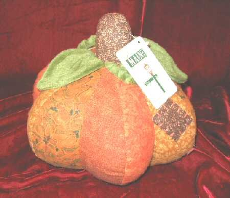 New Halloween Decor Fabric Stuffed Pumpkin Plush!