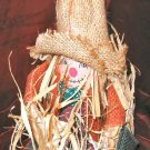 New Halloween Decor Scarecrow Straw & Fabric Doll