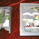 NEW Hand Painted Pine Treasure Chest Jewelry Box Case