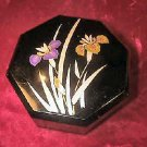 Vintage Yamanaka Japan Jewelry Case Trinket Box Floral