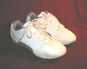 Nike White Leather Air Jordan  Boys 3Y = Women 4.5
