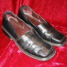 Mens Artiva Lites Leather Black Shoes Loafers 10M 10 M Brazil