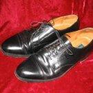 Mens Cole Haan Black Leather Dress Shoes Lexington 12 D 12D Cap Toe