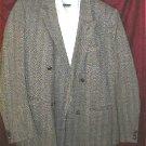 David Burr 100% Pure Wool Suit Jacket 42 w/ FREE Bonus Shirt