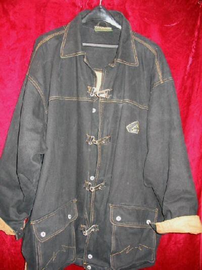 Geetz Thick Logo Winter Jacket Coat 3/4 Funky L