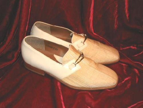 Mens Giorgio Brutini 2 Tone Leather Shoes White 9M